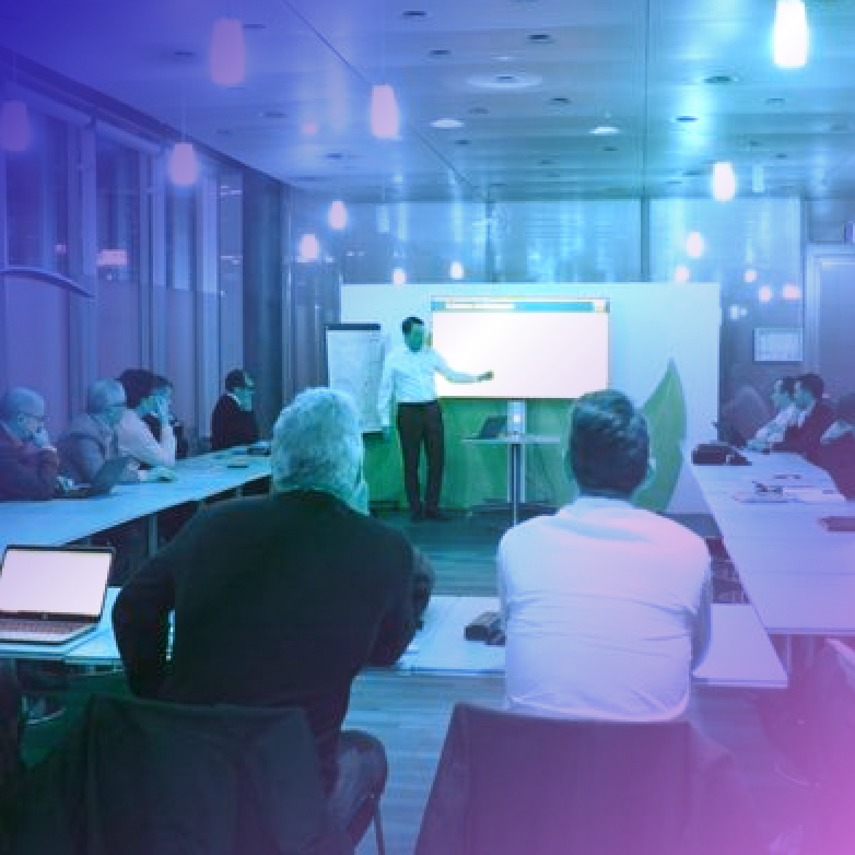 RAW Labs presents to the CIO's of French speaking part of Switzerland